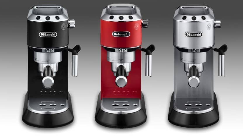 Delonghi EC680M Metallic, Black, Red