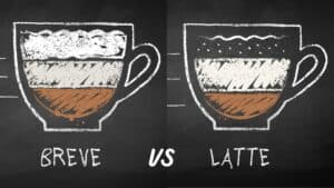 Breve Vs Latte. What's the Difference?