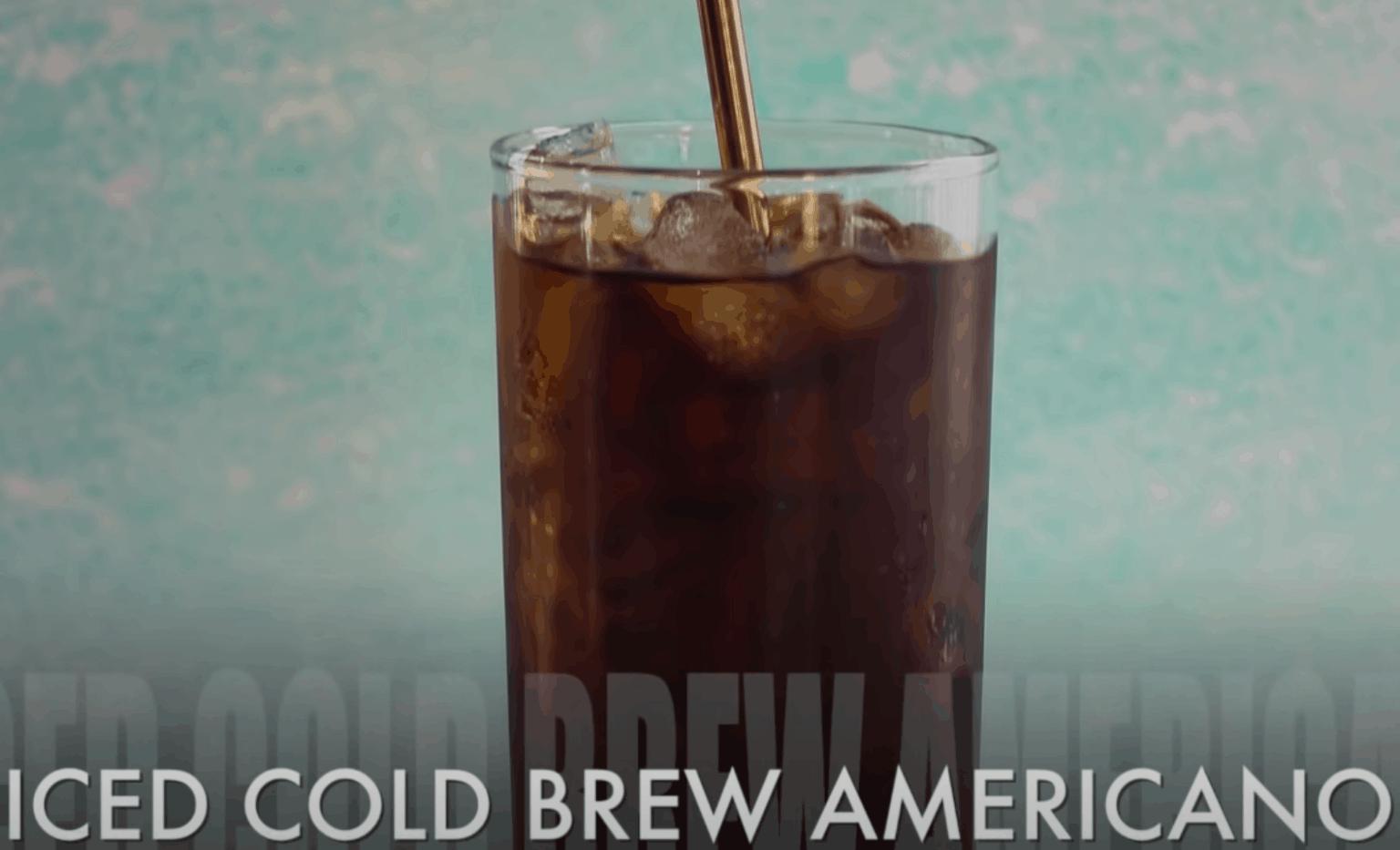 Cold Brew Iced Americano