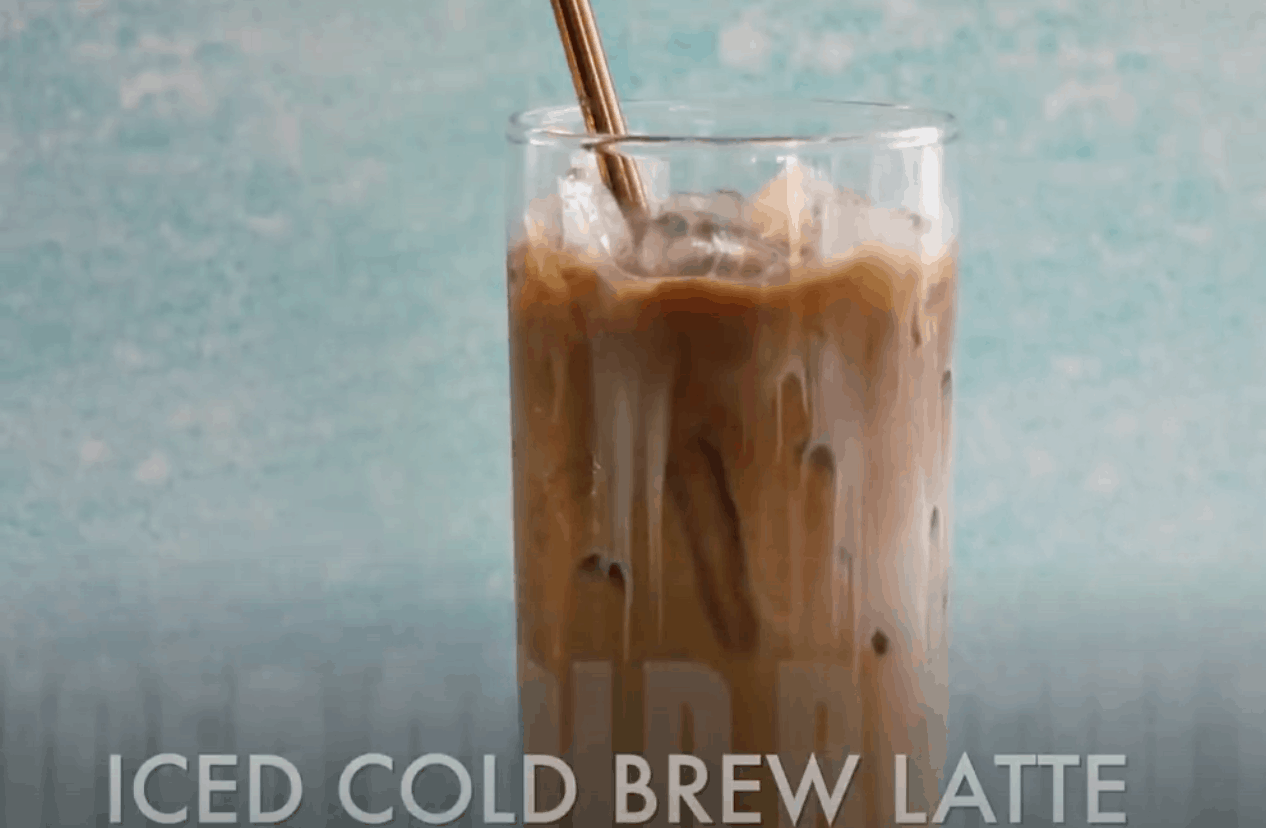 Iced Cold Brew Latte Image