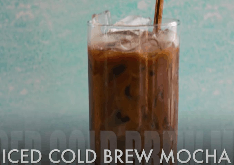 Iced Cold Brew Mocha