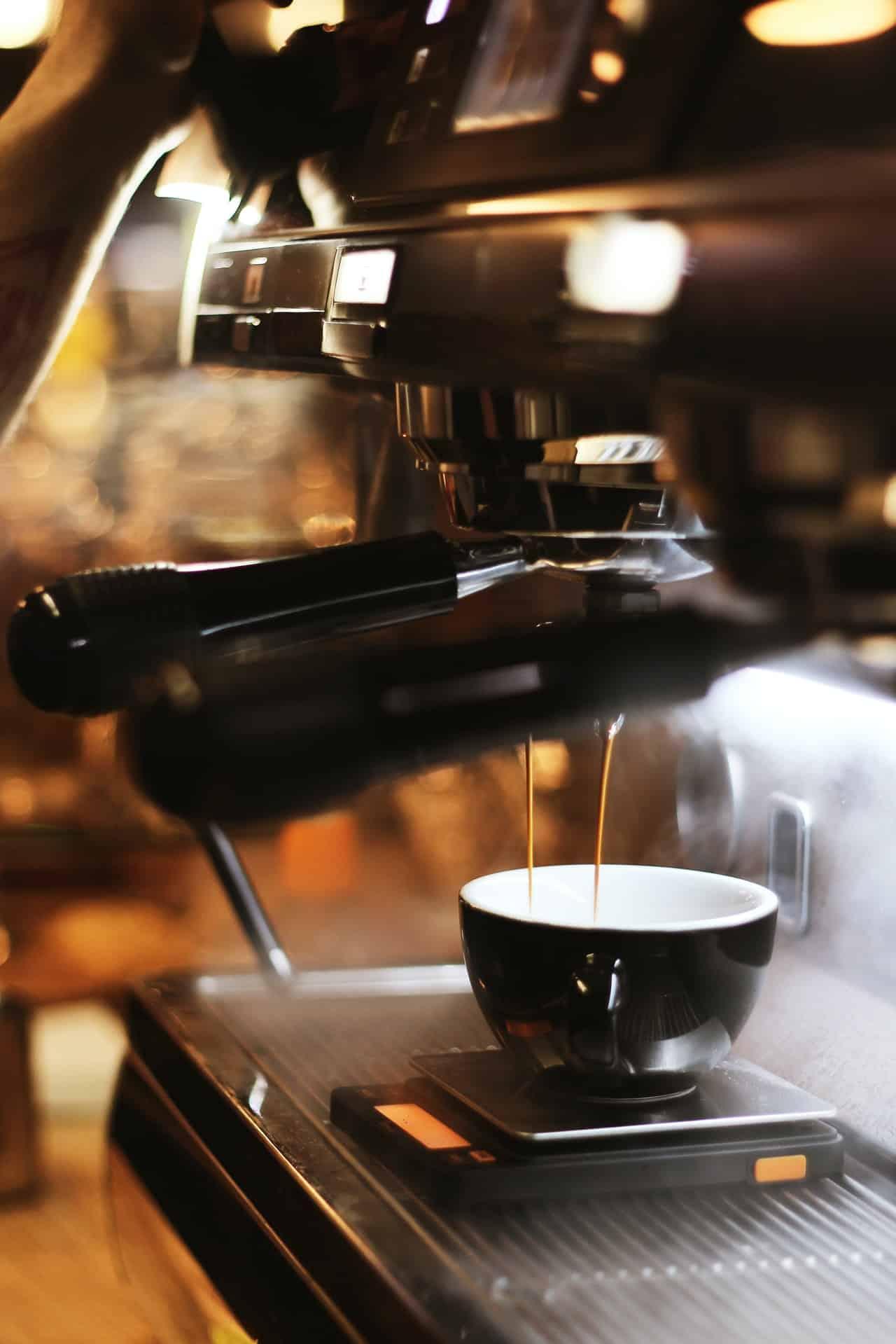 Brewing Espresso with a Coffee Machine